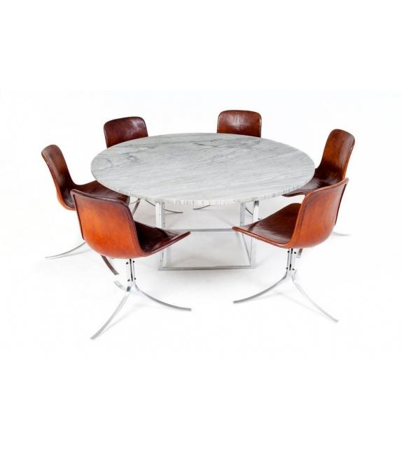 pk54 tisch fritz hansen milia shop. Black Bedroom Furniture Sets. Home Design Ideas