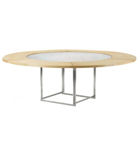 PK54+PK54A Table Avec Anneau D'Extension Fritz Hansen