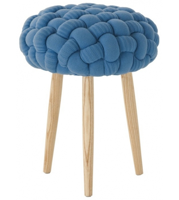 Knitted Knot Tabouret Gan