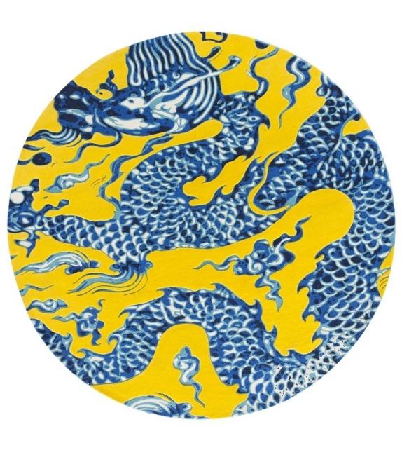 Cadeneta Blue China Tappeto Gan