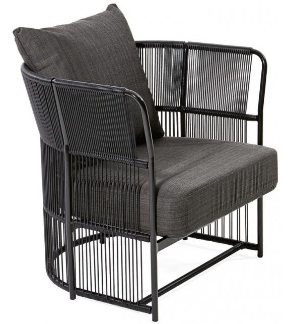 Tibidabo Lounge Armchair Varaschin