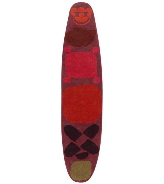 Hand Tufted Surf Race Tapis Gan