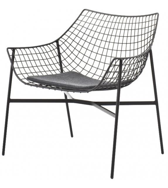 Summer Set Lounge Armchair With Seat Cushions Varaschin