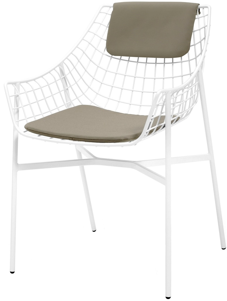 Varaschin for sale online | - Milia Shop - Summer Set Armchair With Seat & Back Cushions Varaschin