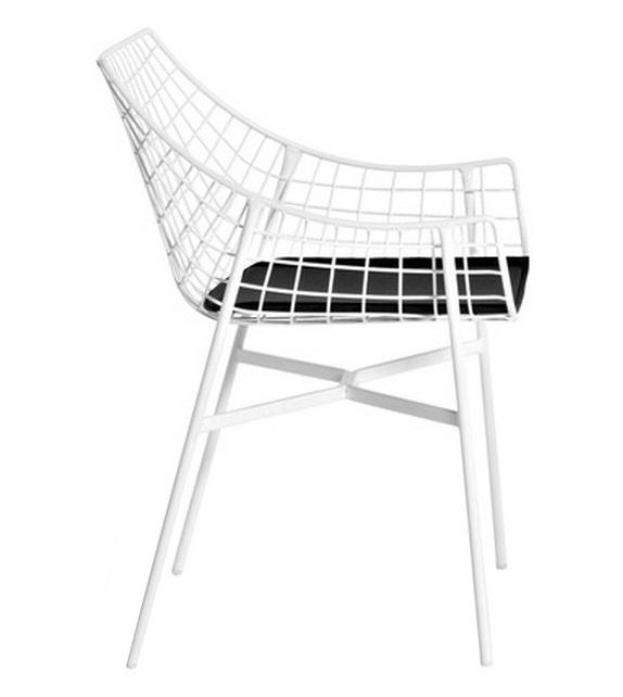 Summer Set Armchair With Seat Cushion Varaschin