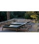 Mistral Sunlounger With Cushion Roda