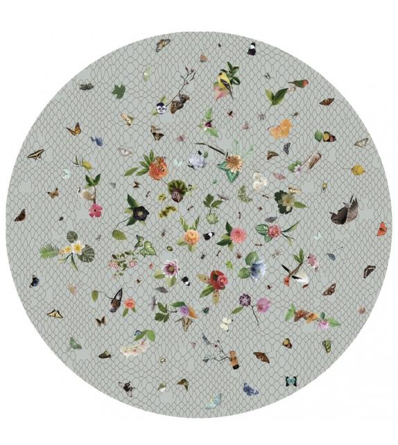 Garden of Eden Round Netting Tappeto Moooi