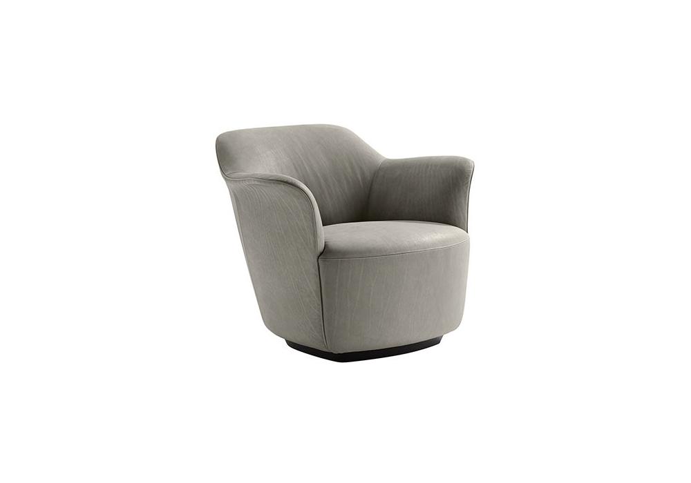 Aida armchair poltrona frau milia shop for Chaise longue frau