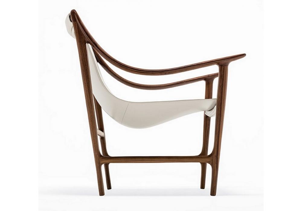 swing armchair giorgetti milia shop. Black Bedroom Furniture Sets. Home Design Ideas