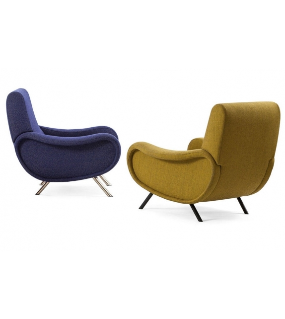 720 lady fauteuil cassina milia shop. Black Bedroom Furniture Sets. Home Design Ideas