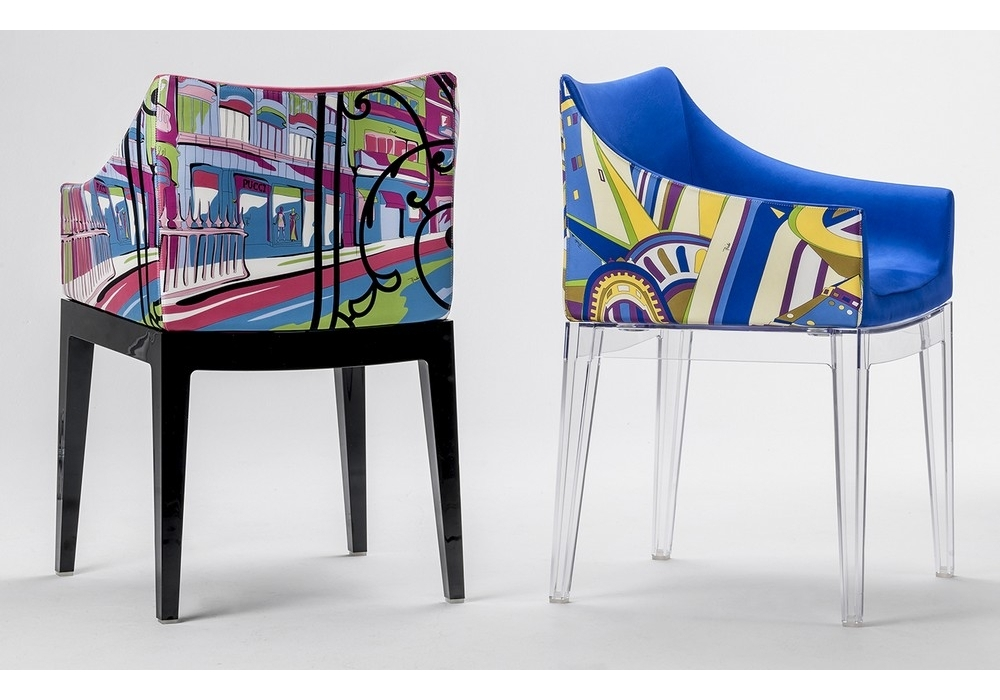 Madame world of emilio pucci armchair kartell milia shop for Chaise kartell transparente