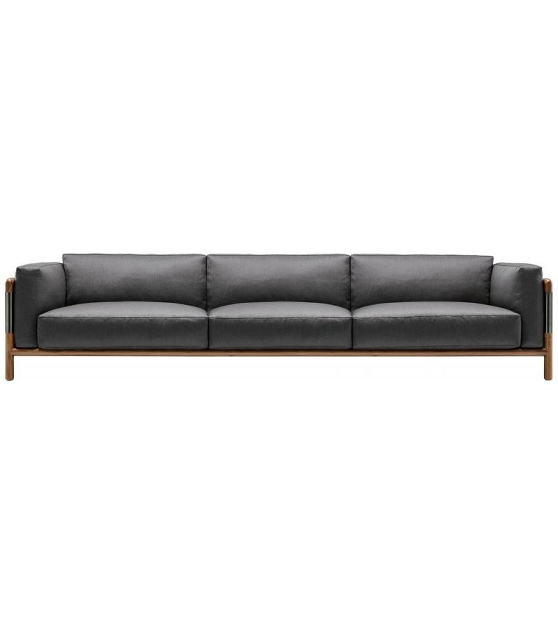 Urban dreisitzer sofa giorgetti milia shop for Sofa dreisitzer