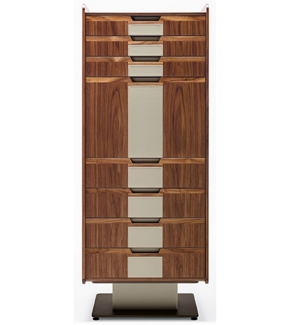Corium Chest Of Drawers With Shelf Giorgetti
