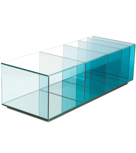 Deep Sea Rectangular Coffee Table Glas Italia