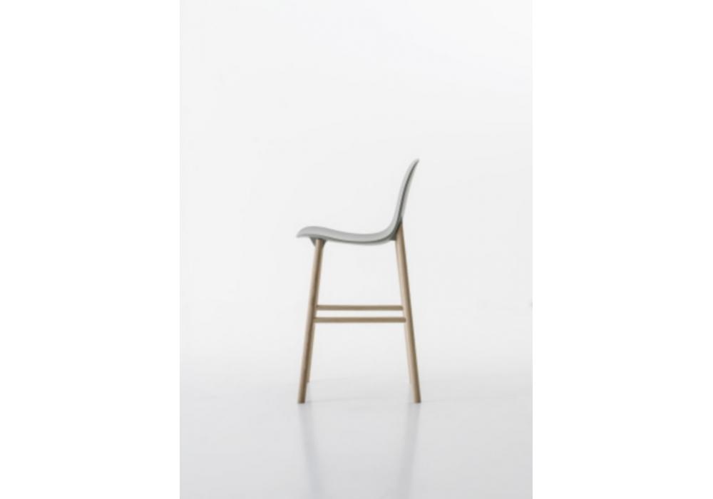 sharky stool hohe r ckenlehne hocker kristalia milia shop. Black Bedroom Furniture Sets. Home Design Ideas