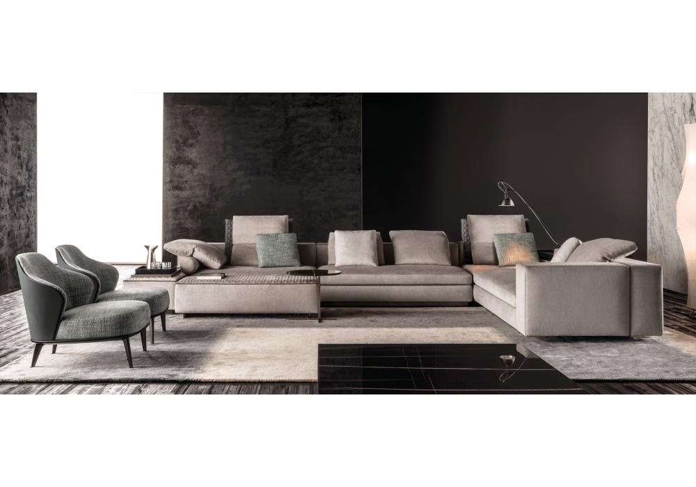 Yang divano modulare minotti milia shop - Divano modulare ...