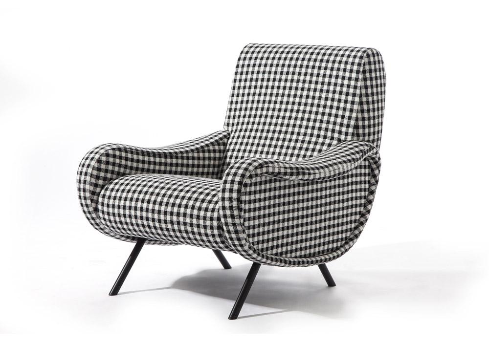 720 lady iconic edition armchair cassina milia shop - Fauteuil pivotant ikea ...
