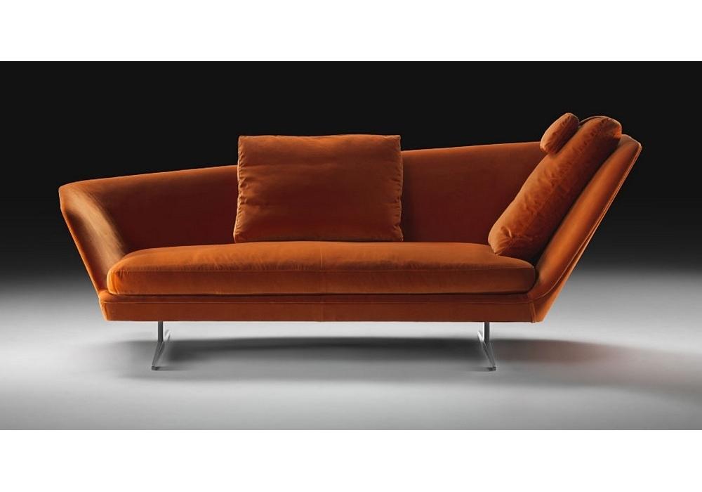 Zeus Oblique Backrest Sofa Flexform Milia Shop
