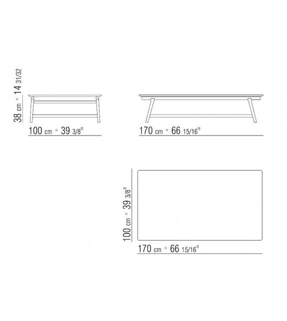 Giano Small Table Flexform