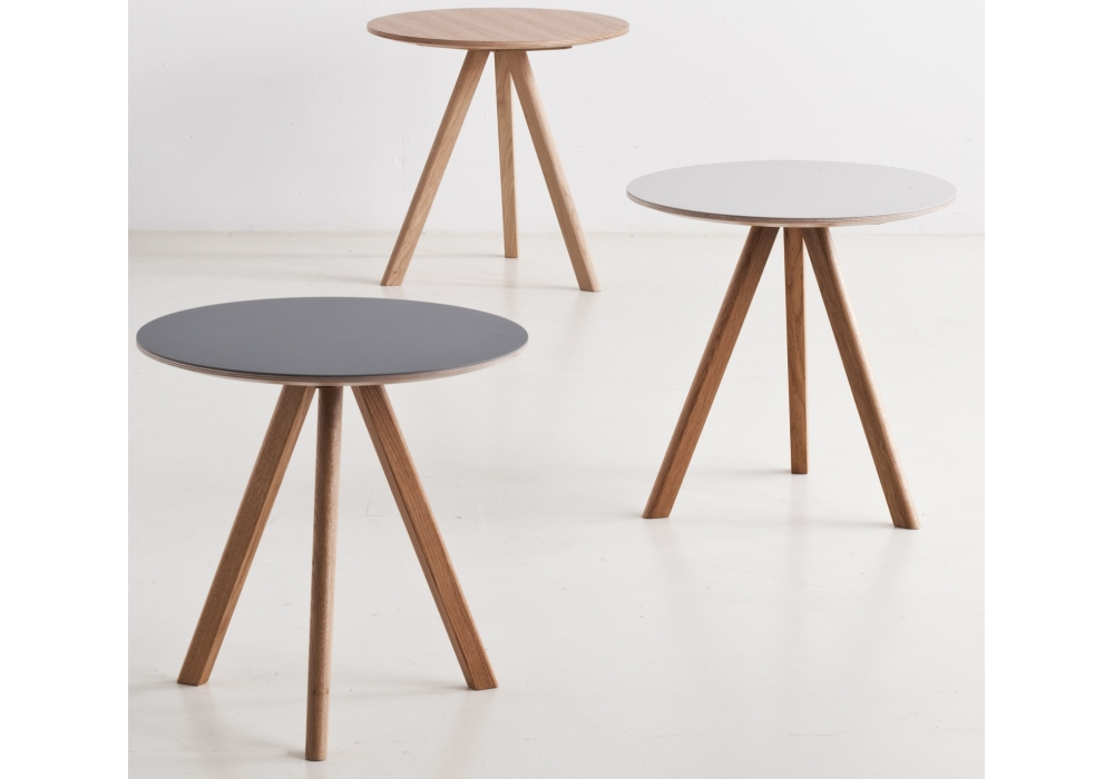 copenhague round coffee table cph20 hay milia shop. Black Bedroom Furniture Sets. Home Design Ideas