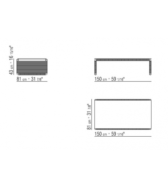 Tindari Flexform Small Table