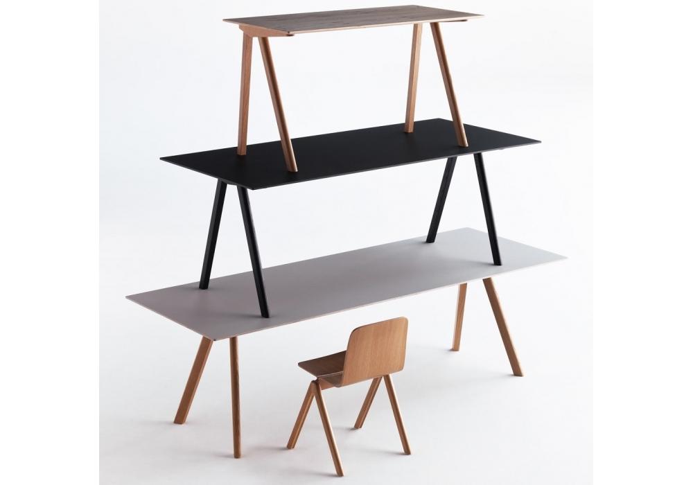 Esstisch Linoleum copenhague table cph30 tisch mit tischplatte aus linoleum hay
