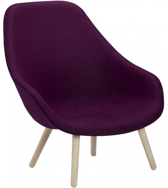 Hay: About a Lounge Chair High / Soft AAL 92 Armchair