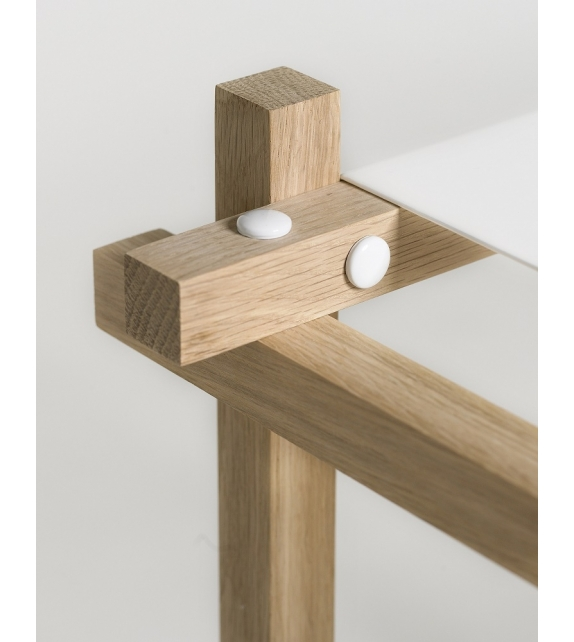 Hay: Woody Column High Shelving System