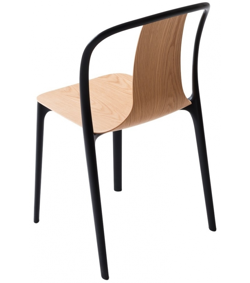 Belleville Chair Wood Vitra