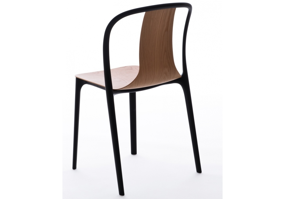Mobilier > Chaises > Belleville Chair Wood Chaise Vitra