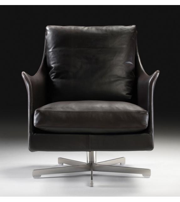 Boss Swivel Armchair Flexform