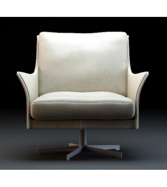 Boss swivel armchair flexform milia shop for Chaise longue flexform