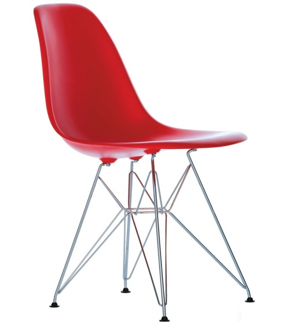 Eames Plastic Side Chair DSR Sedia