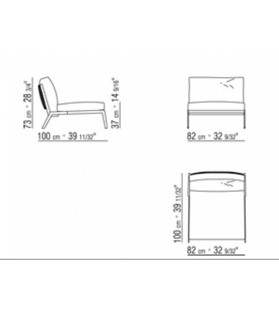 Happy Armchair Flexform