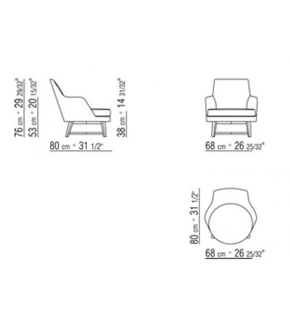 Guscio Armchair Flexform
