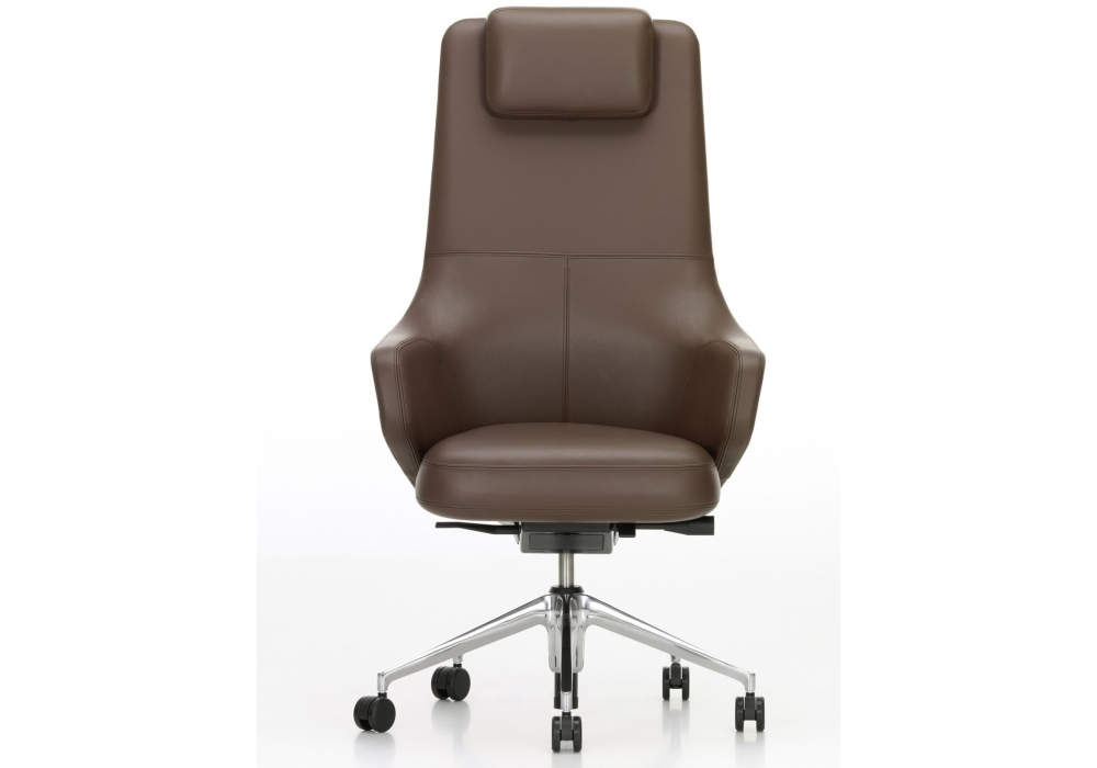 Grand executive highback chaise vitra milia shop for Chaise vitra bureau