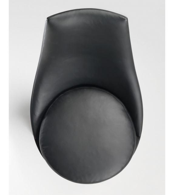 Guscioalto Poltrona Girevole Base In Alluminio Flexform