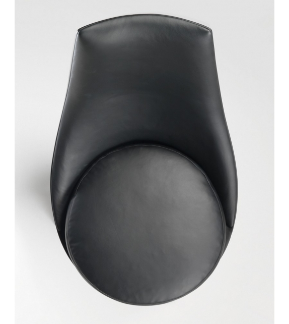 Guscioalto Sillón Giratorio Base De Aluminio Flexform