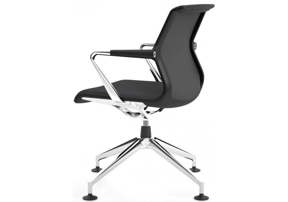 unix chair stuhl mit vierstern untergestell vitra milia shop. Black Bedroom Furniture Sets. Home Design Ideas