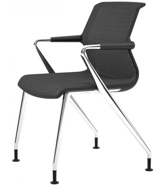 unix chair stuhl mit vierbein untergestell vitra milia shop. Black Bedroom Furniture Sets. Home Design Ideas