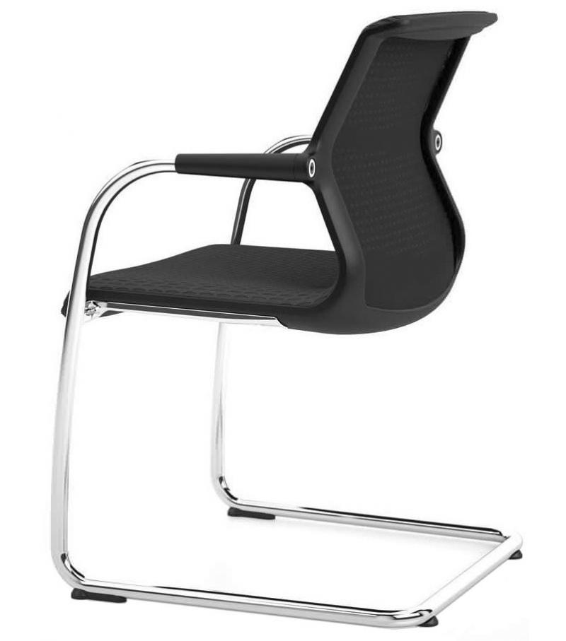 unix chair stuhl mit kufengestell vitra milia shop. Black Bedroom Furniture Sets. Home Design Ideas