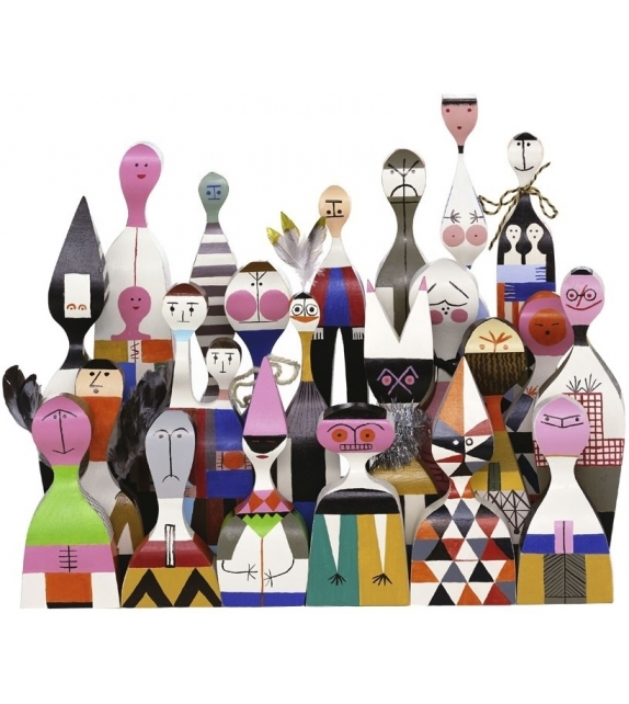 Wooden Dolls Objekte Vitra