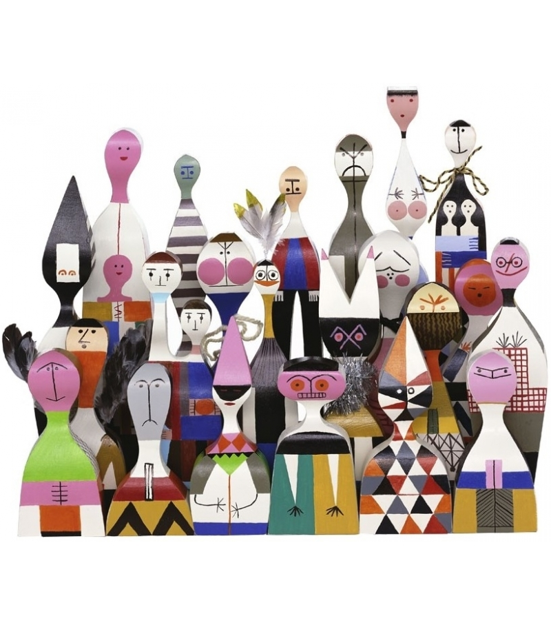 Wooden Dolls objects