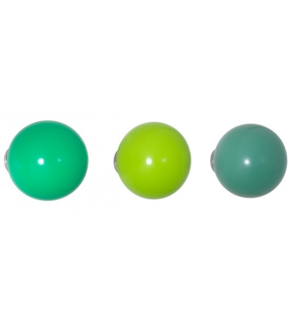Coat Dots Set von 3 Holzkugeln Vitra