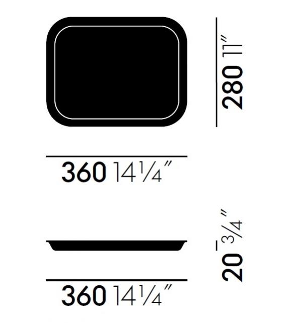 Classic Trays Medium Tablett Vitra