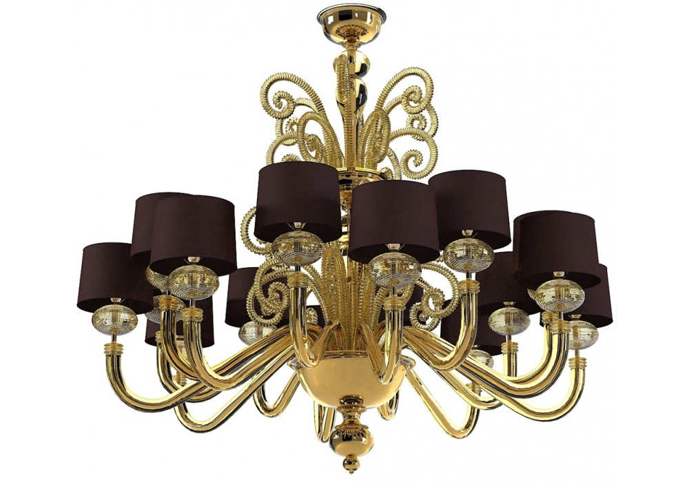 tangeri chandelier barovier toso milia shop. Black Bedroom Furniture Sets. Home Design Ideas