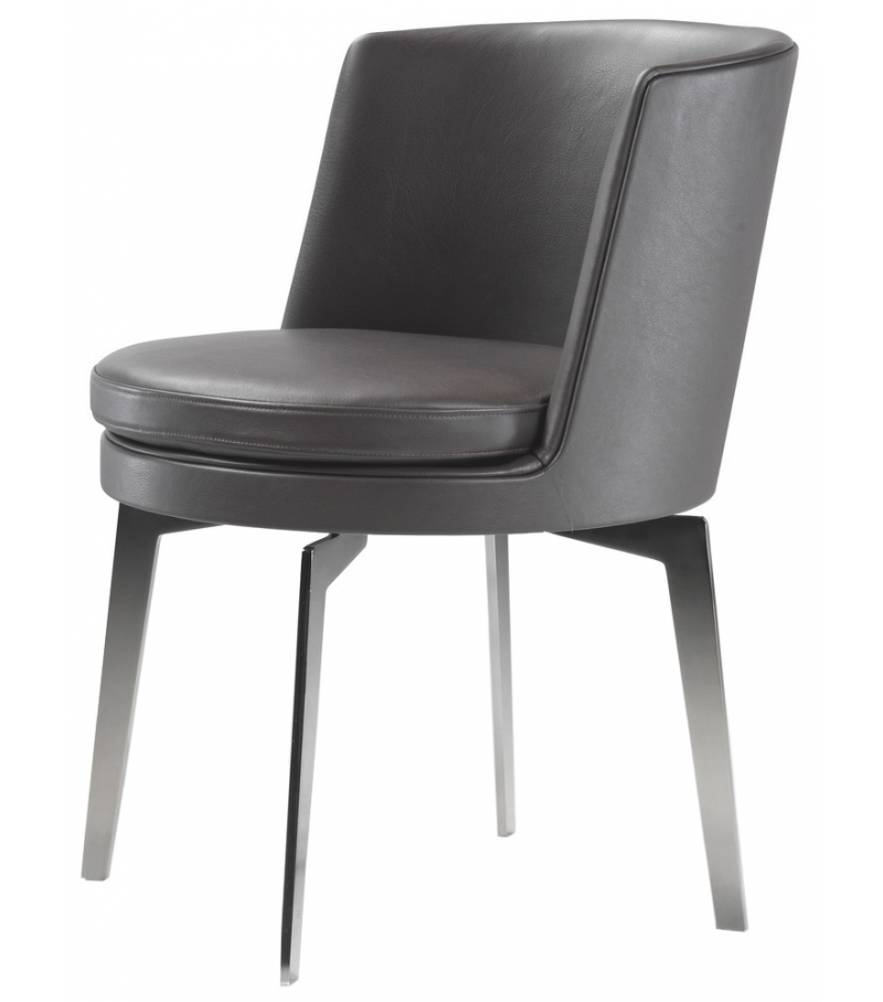 Feel good aluminium base armchair flexform milia shop for Chaise longue en aluminium