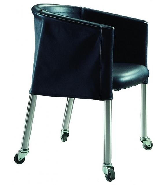 Mixer Armchair With Castors Flexform