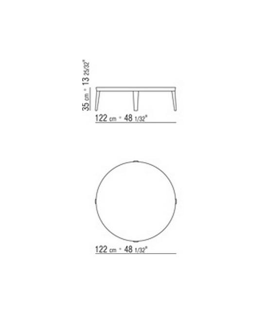 Dida Round Small Table Flexform