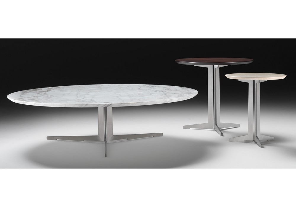 Gallery Of Fly Round Small Table Flexform With Chaise Blanche Fly